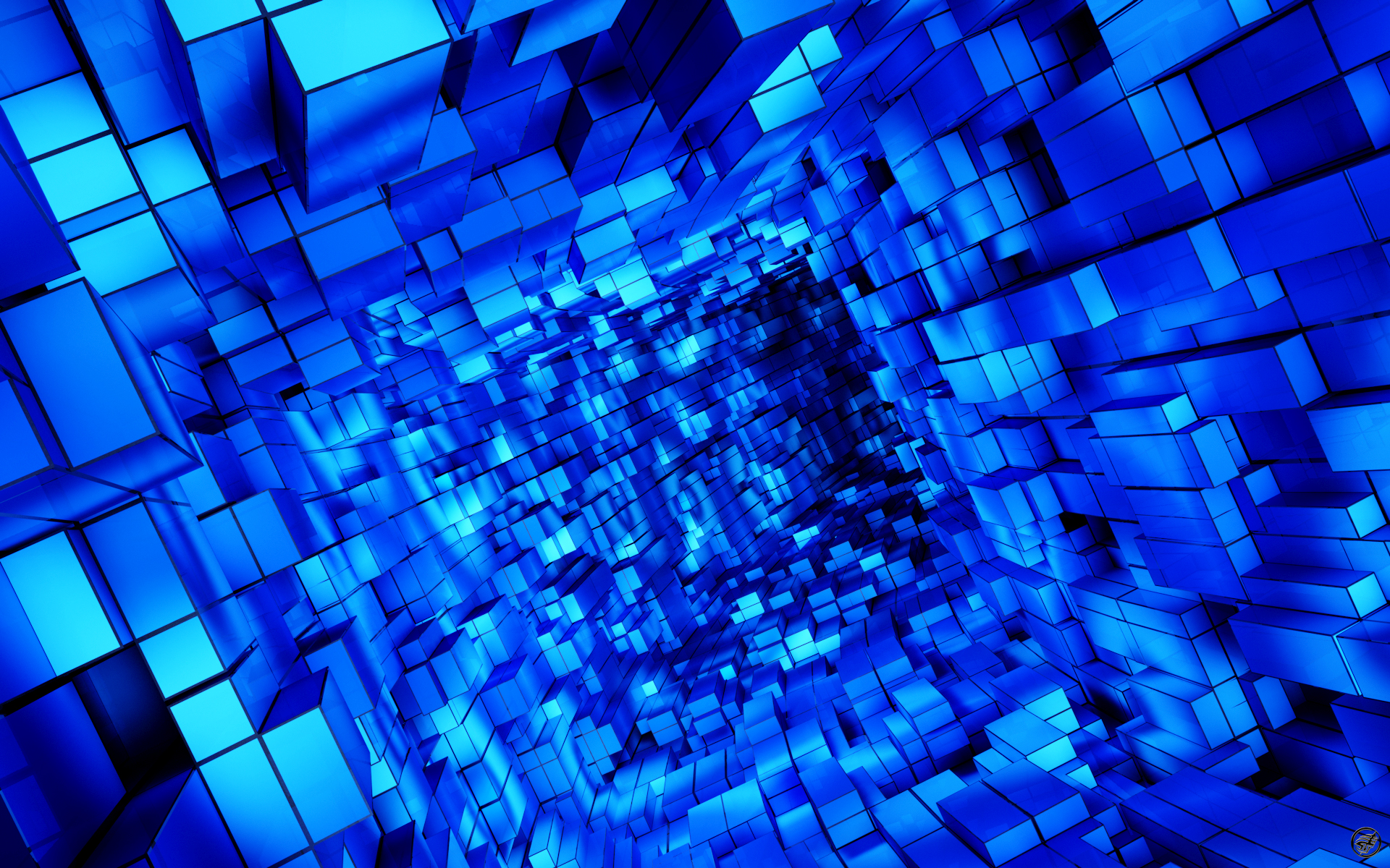 HD Wallpaper P Blue 1920x1200