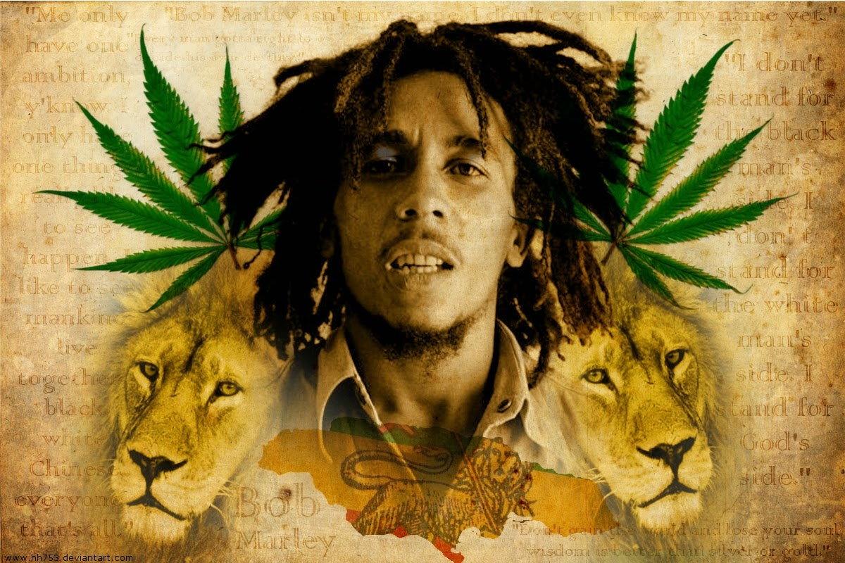 Bob Marley HD Wallpapers for desktop download  Part  1200x800