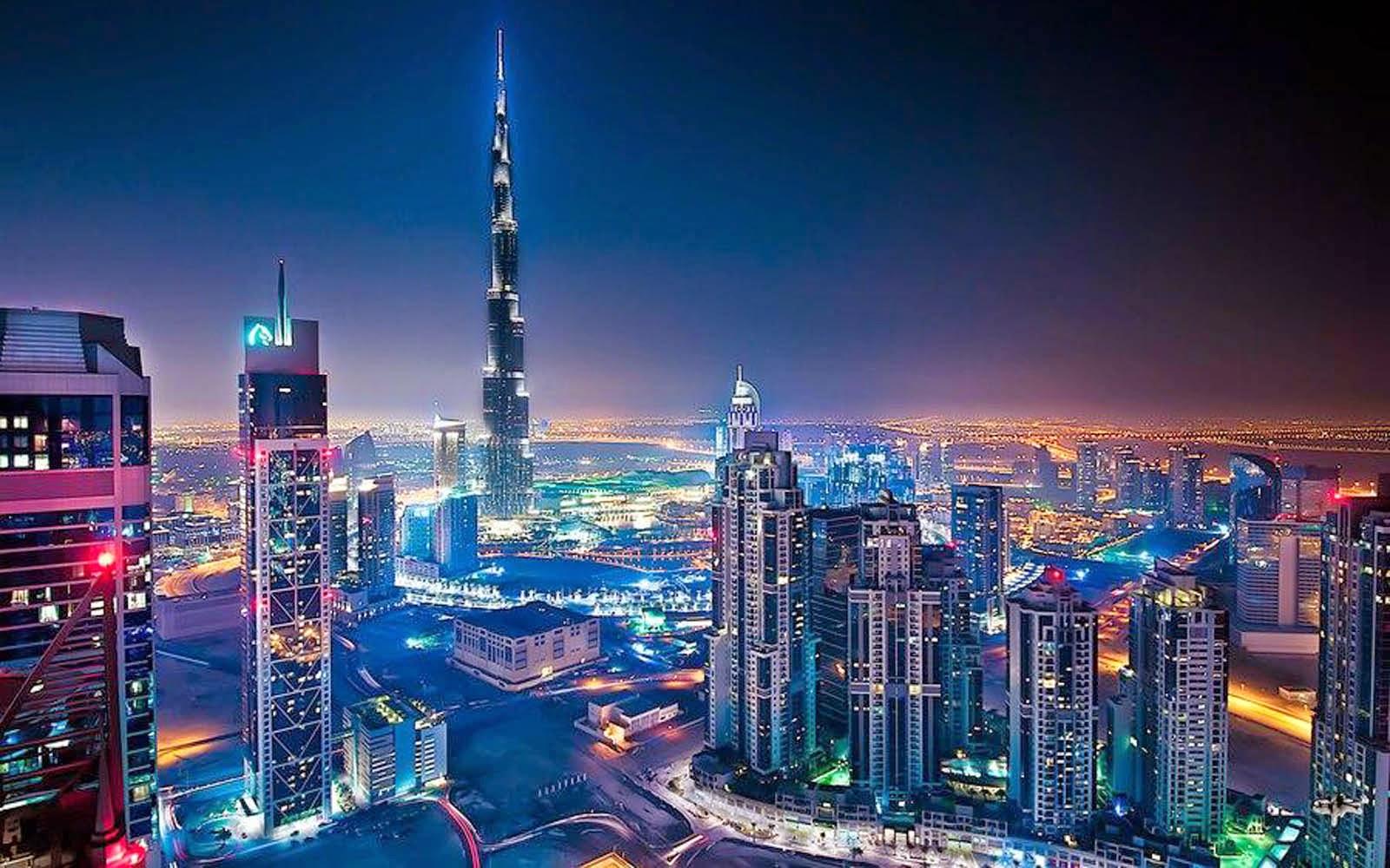 Burj Khalifa Hd Photos: Burj Khalifa At Night HD Desktop Wallpaper : Widescreen