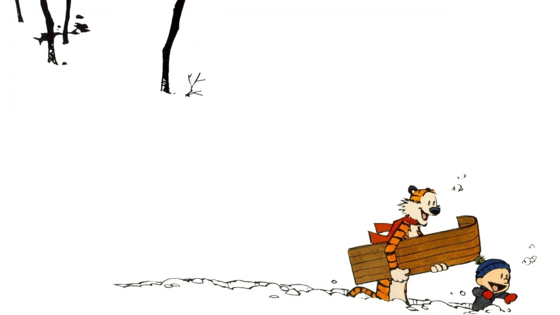 Calvin and Hobbes wallpapers 1920x1080