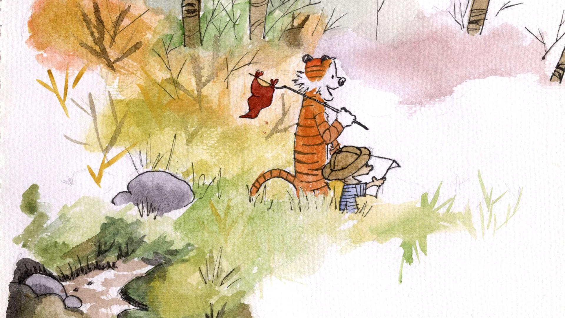 Calvin And Hobbes Wallpapers 1920×1080 (45 Wallpapers ...