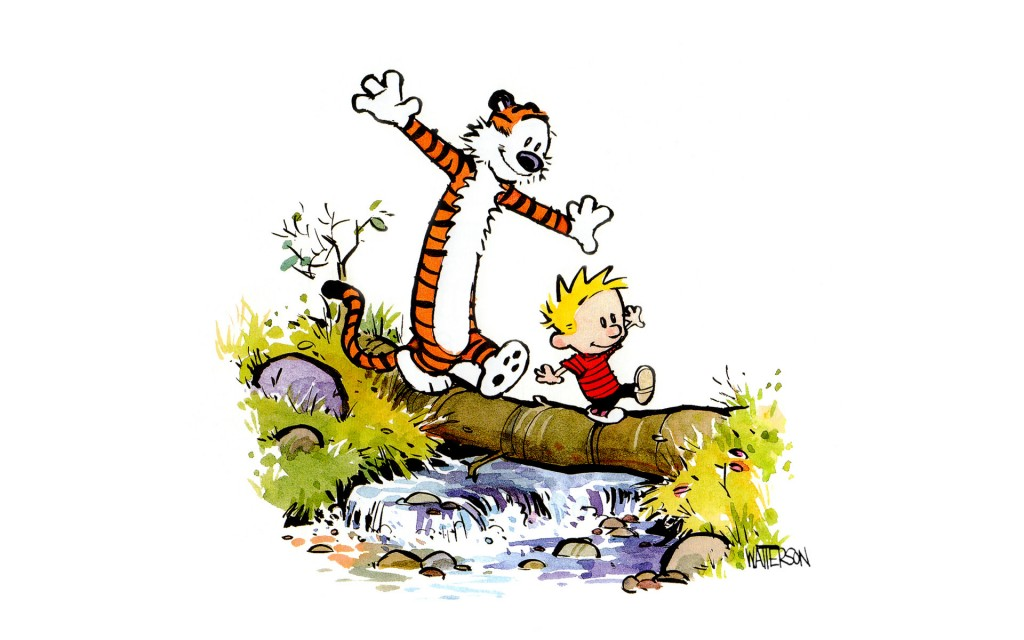 Calvin and Hobbes iPhone Wallpaper   1024x640