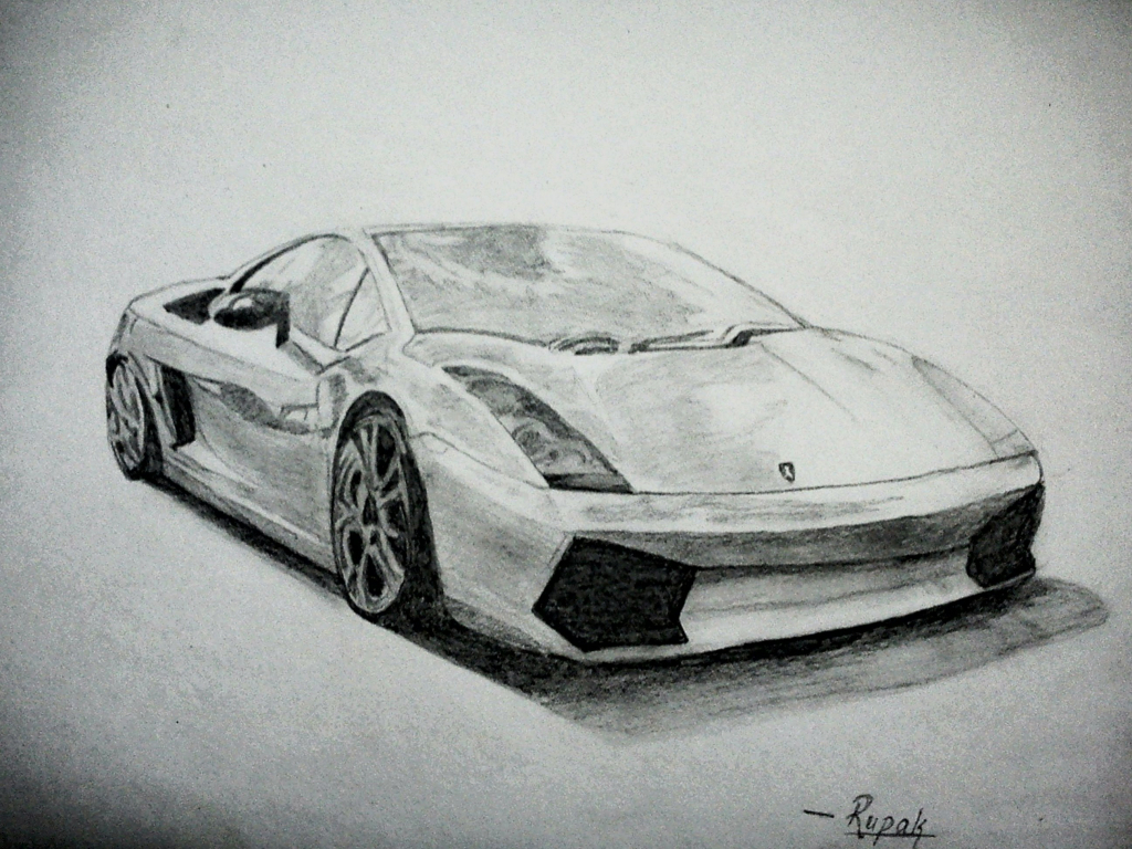 Ideas About Car Drawings On Pinterest How To Draw Cars 1024x768