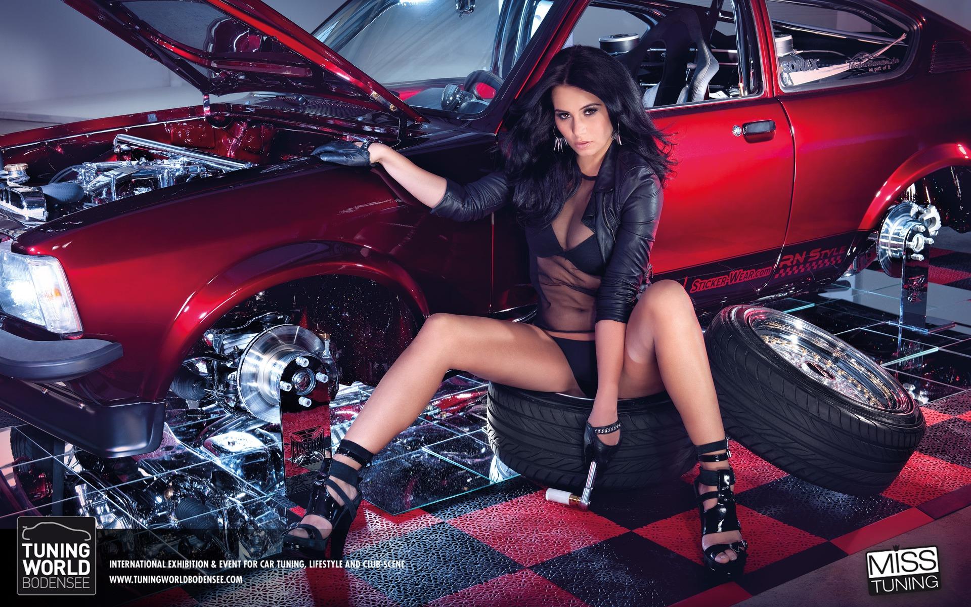 Fabulous Hot Cars Models Wallpapers Te Car Girl Wallpapers 1920x1200