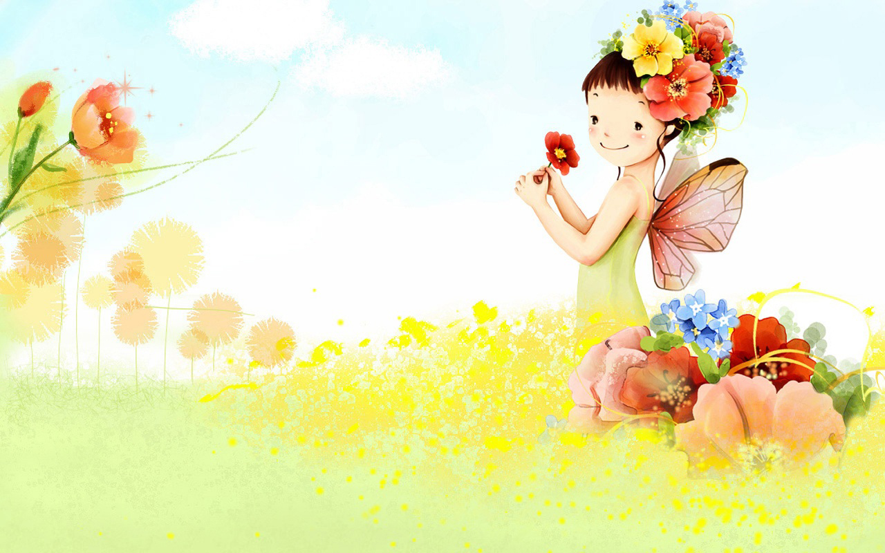 Collection Of Cute Cartoon Wallpapers On Hdwallpapers 1280x800