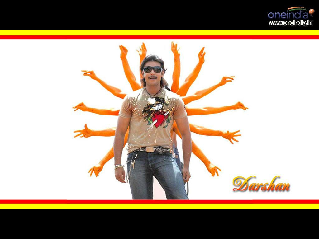 Challenging Star Darshan Wallpaper Group