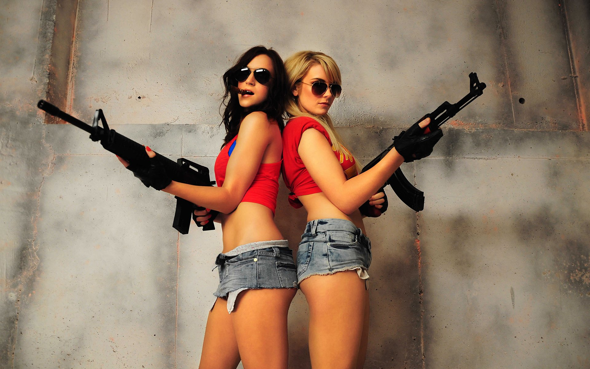 Images of girls with 1024x768 gun fan chicks with guns wallpapers 34 wallpapers adorable voltagebd Gallery
