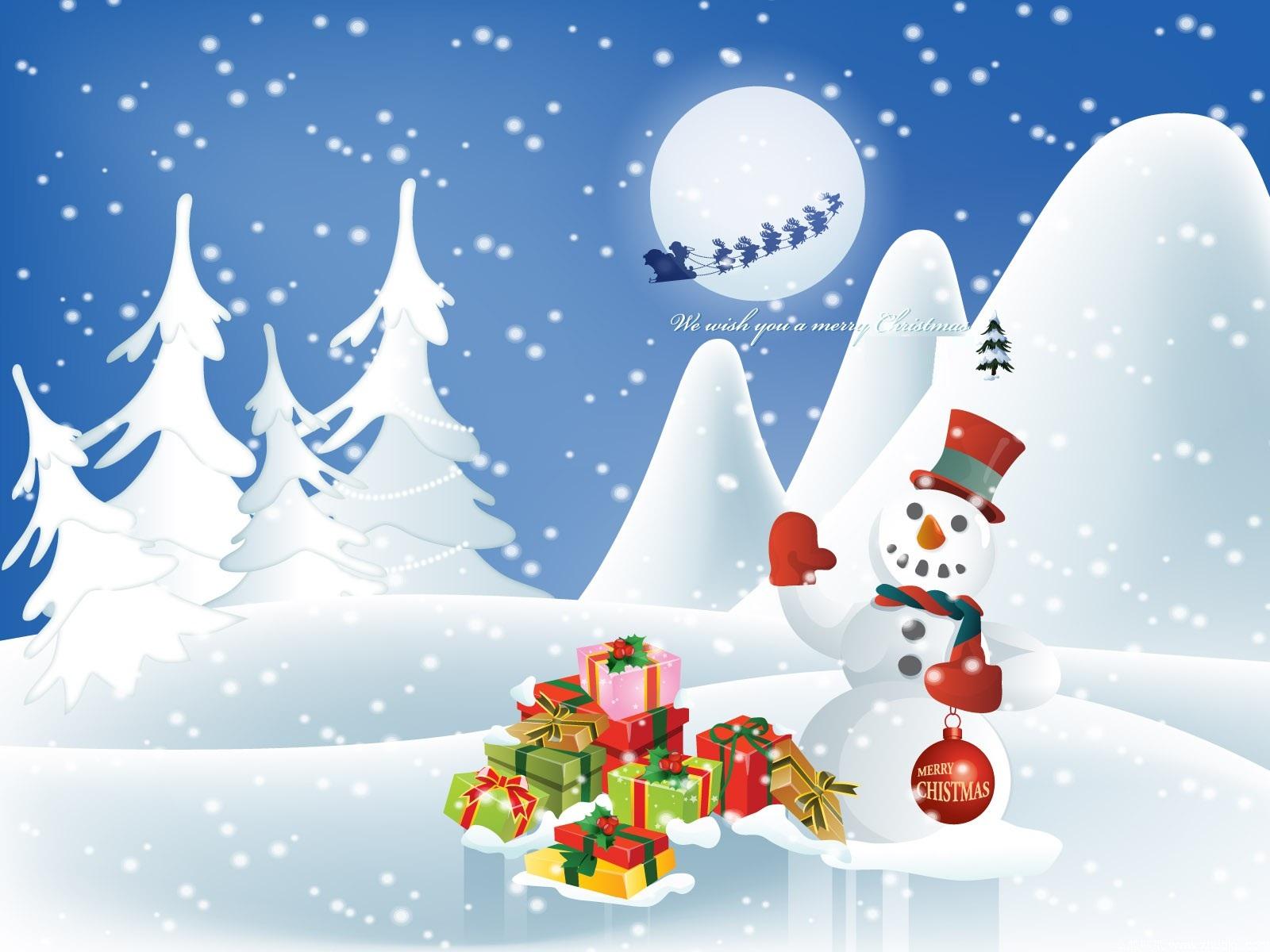 adult christmas cartoon wallpaper - photo #36