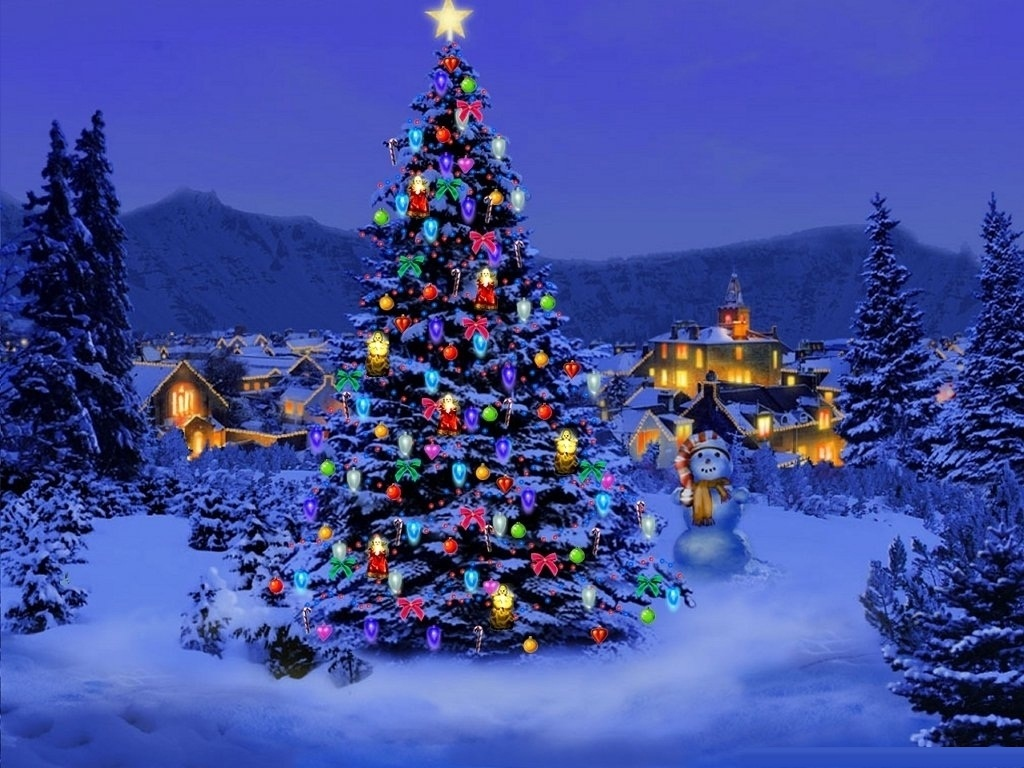 christmas desktop wallpaper free – merry christmas and happy new