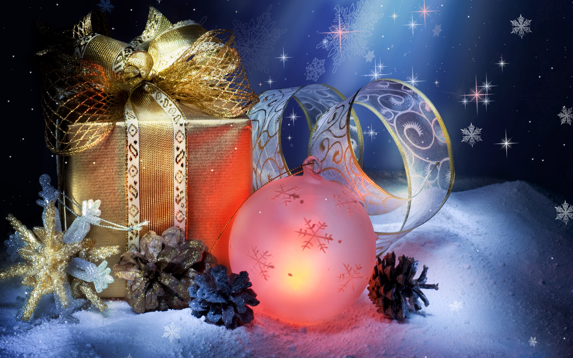 Animated Christmas Wallpapers Free Group 1920×1200