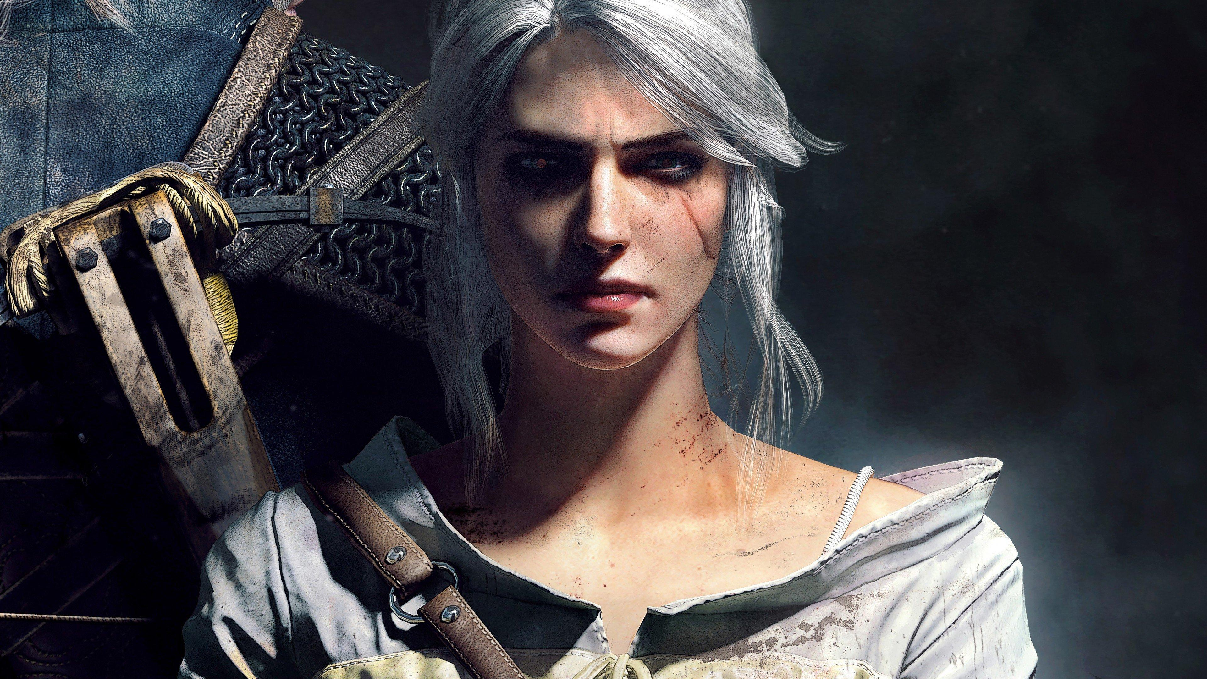 Wallpaper Ciri Cosplay The Witcher