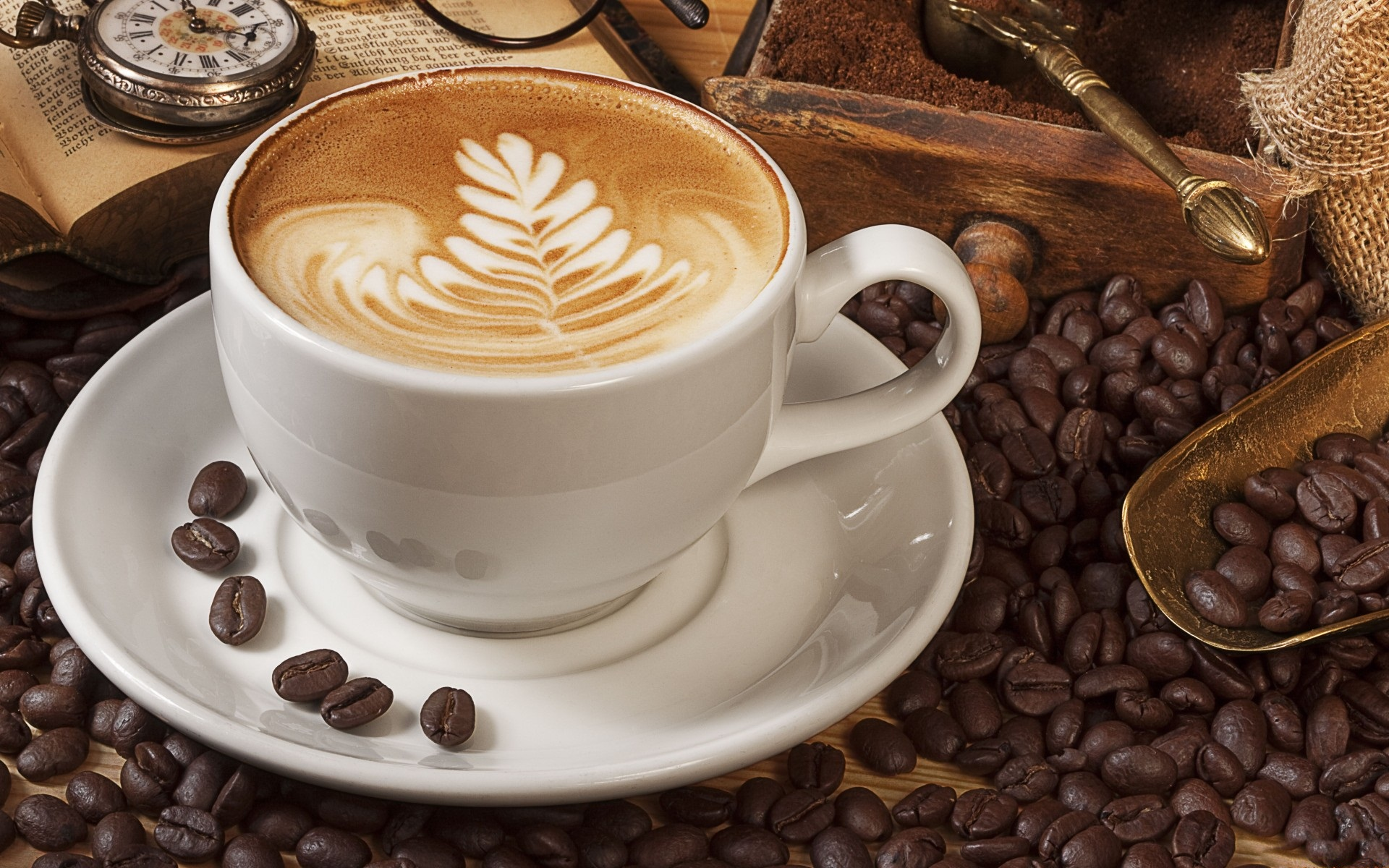 Coffee HD Wallpapers  Backgrounds  Wallpaper  1920x1200