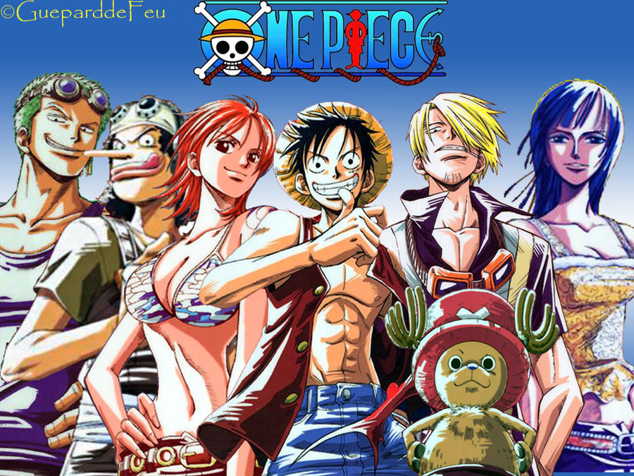 Wallpaper Pemandangan One Piece Official Wallpaper