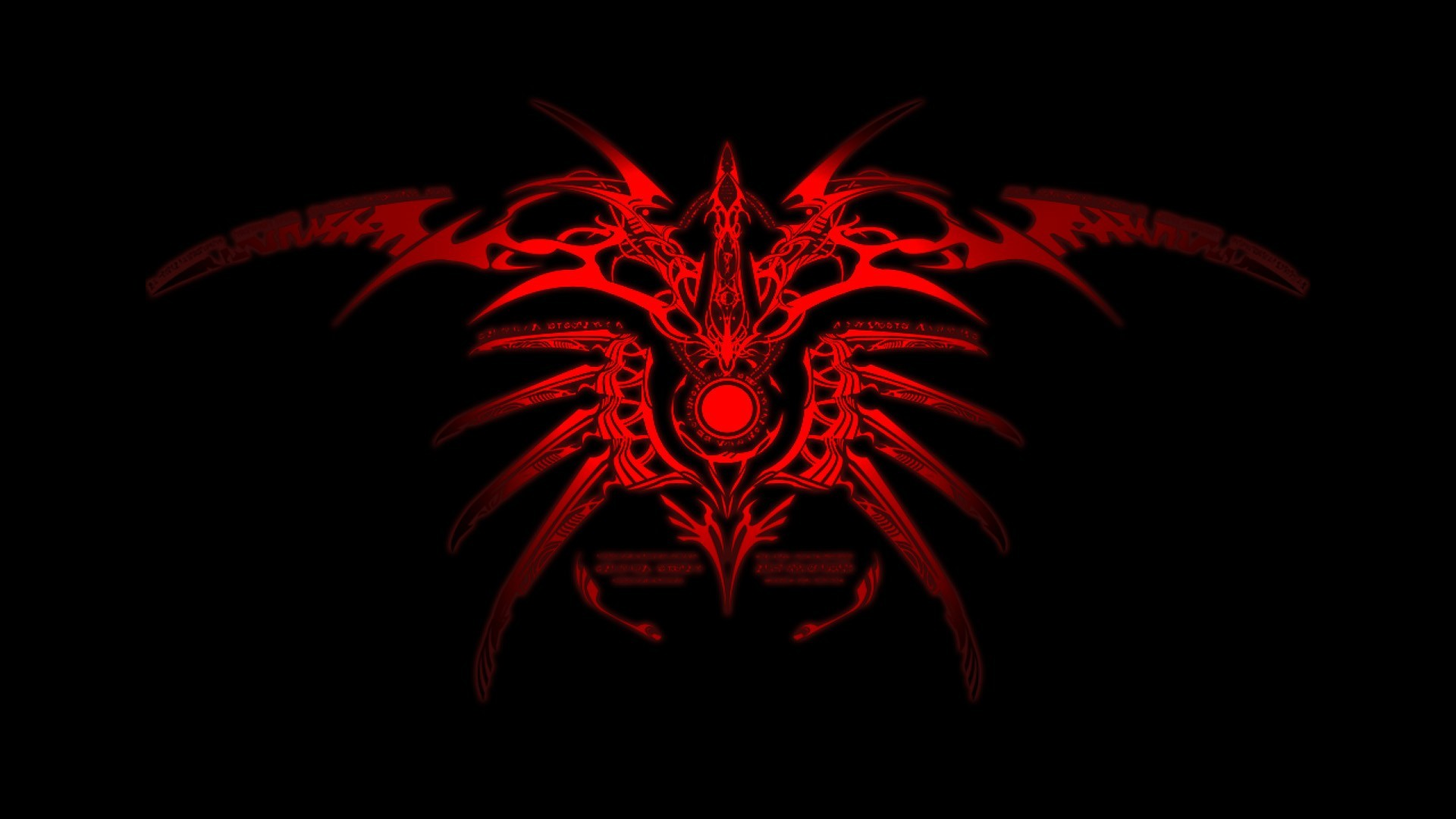 Cool Red And Black Wallpapers 1920x1080