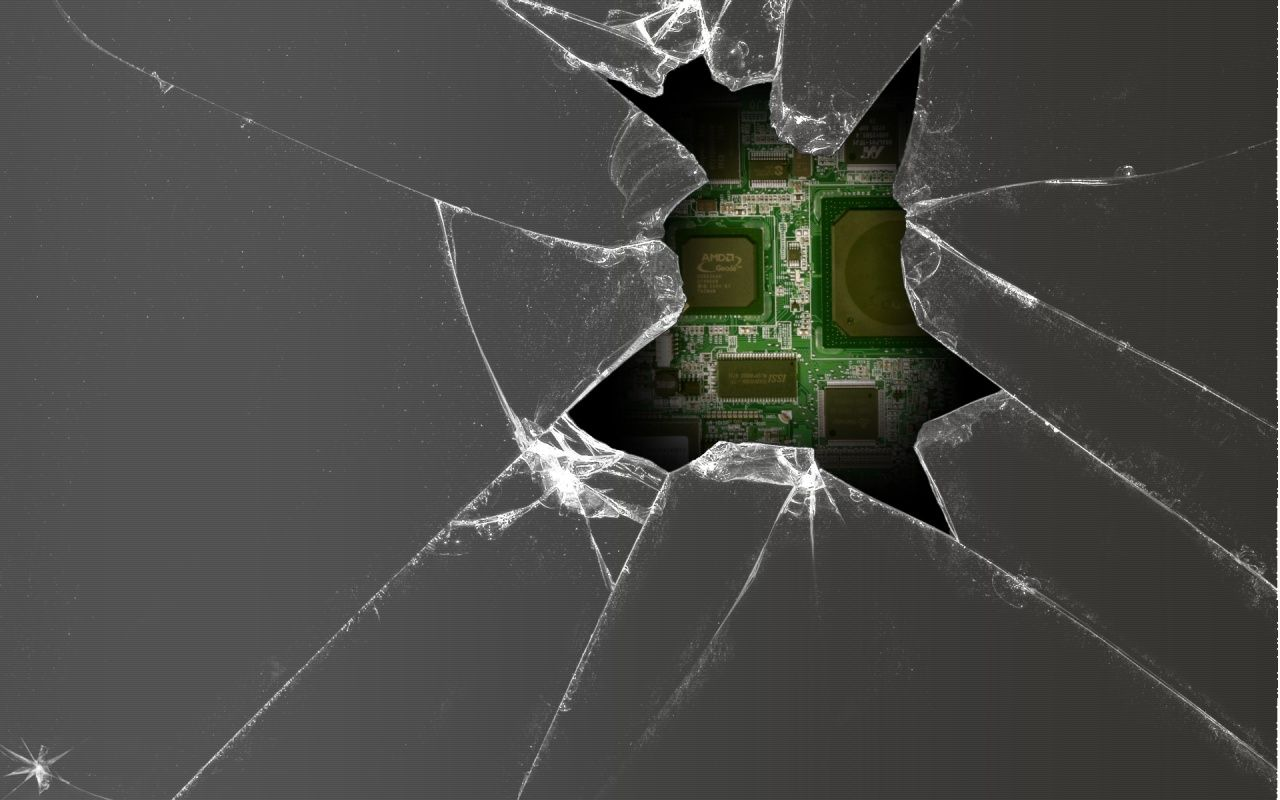3d Cracked Screen Wallpapers
