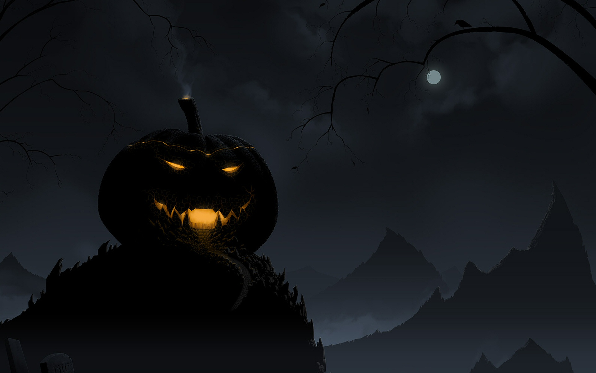 Scary Halloween Horror  Halloween Backgrounds Wallpapers, Free 1920x1200