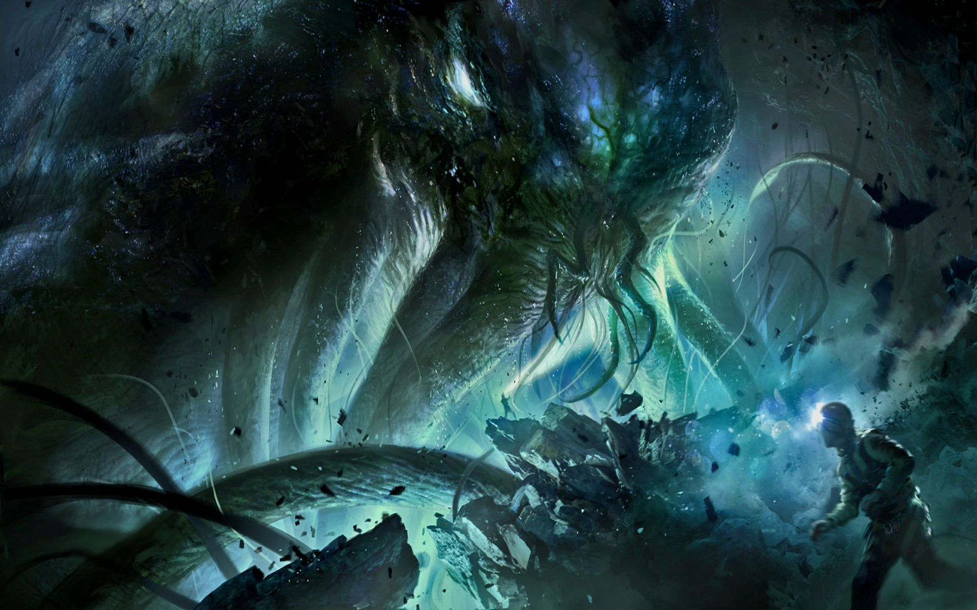 Cthulhu Hd Wallpapers Backgrounds Wallpaper Page 1920x1200