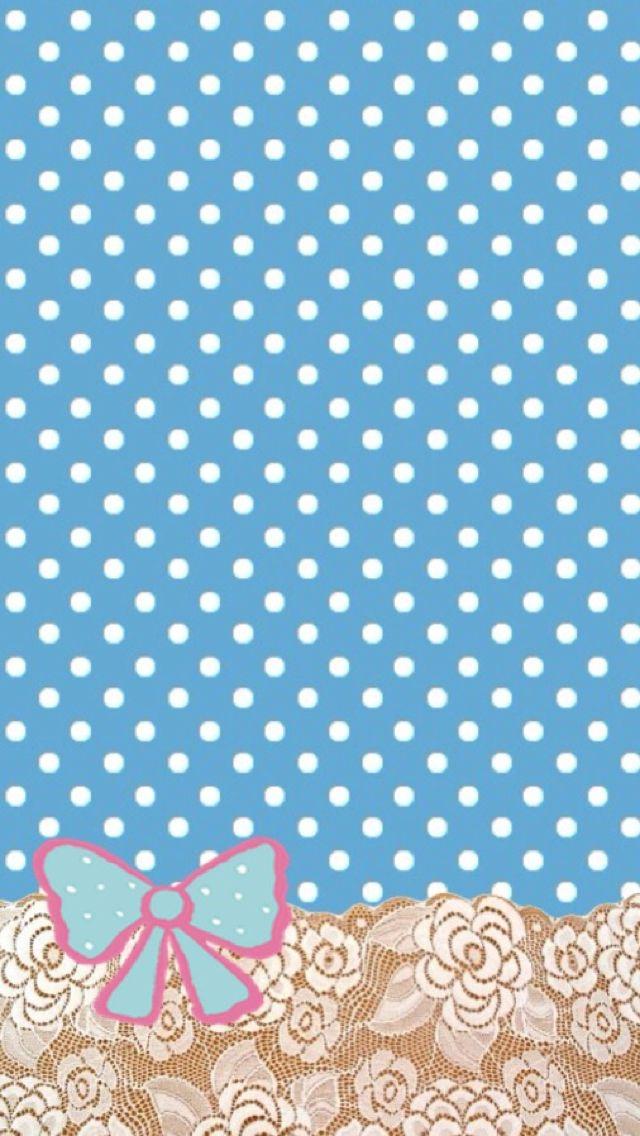 Blue Cute Background Wallpaper 640x1136