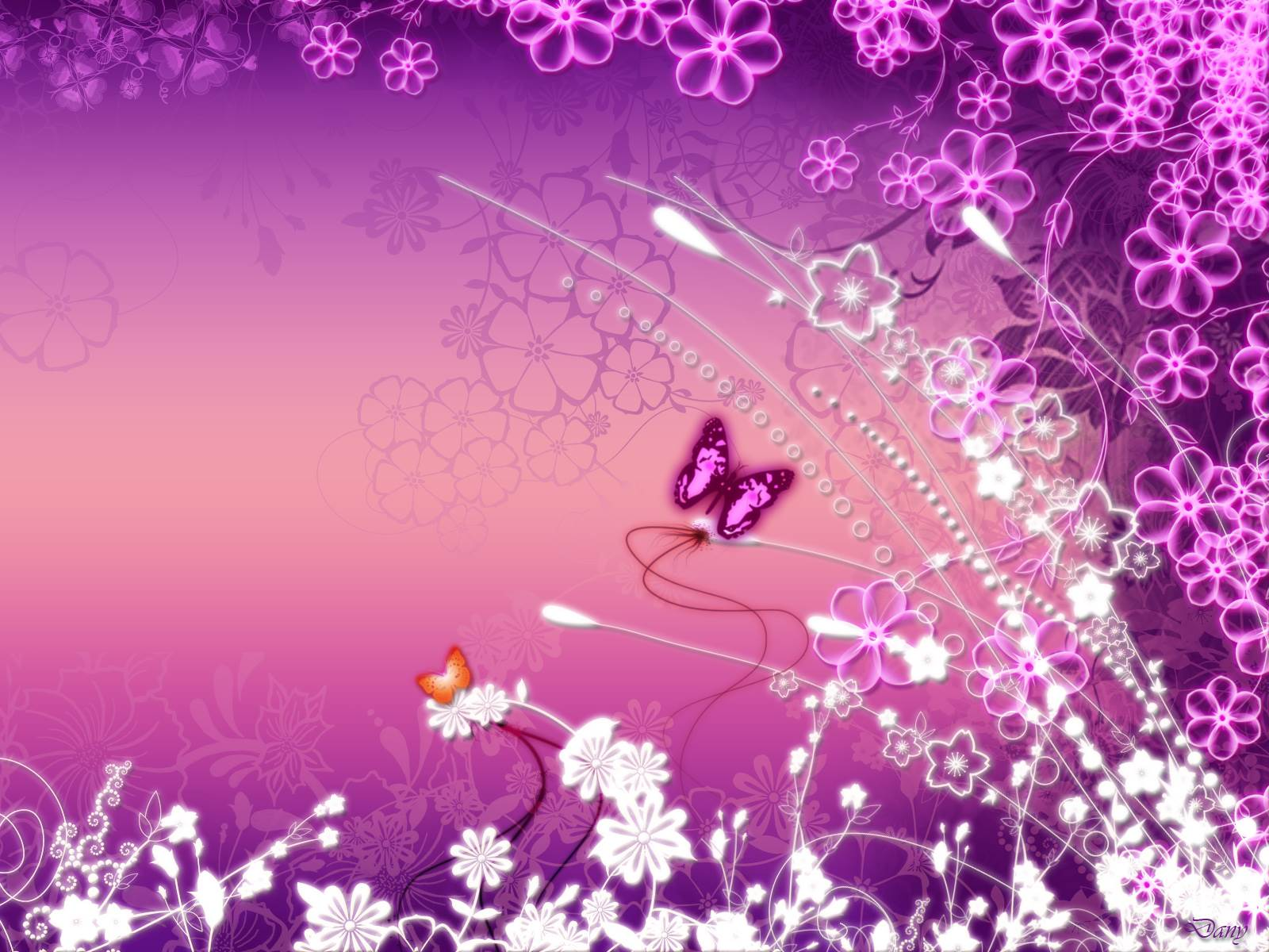 Cute Butterfly Backgrounds Wallpaper 1600x1200
