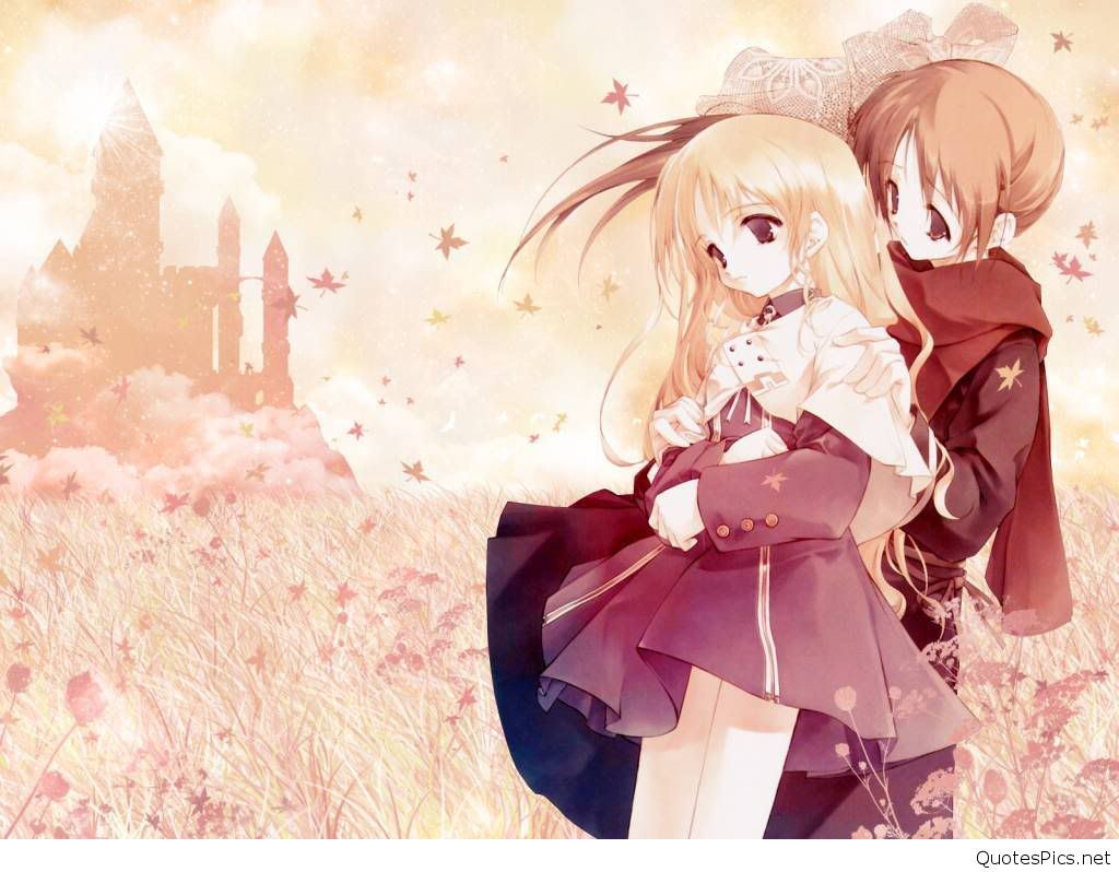 Cute Best Anime Couple Wallpaper Hd Anime Wallpapers