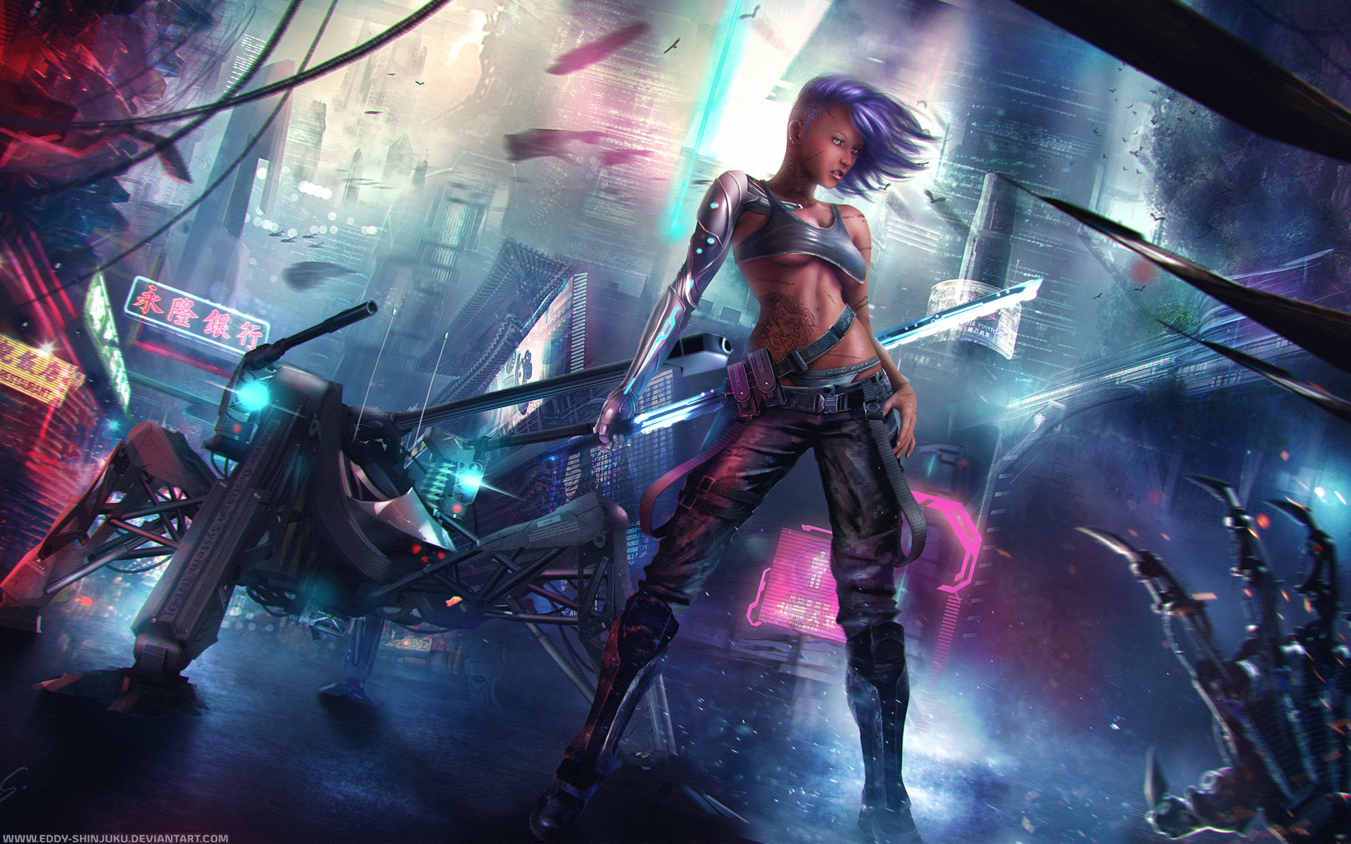 Cyberpunk Wallpapers High Quality  Download Free 1920x1200