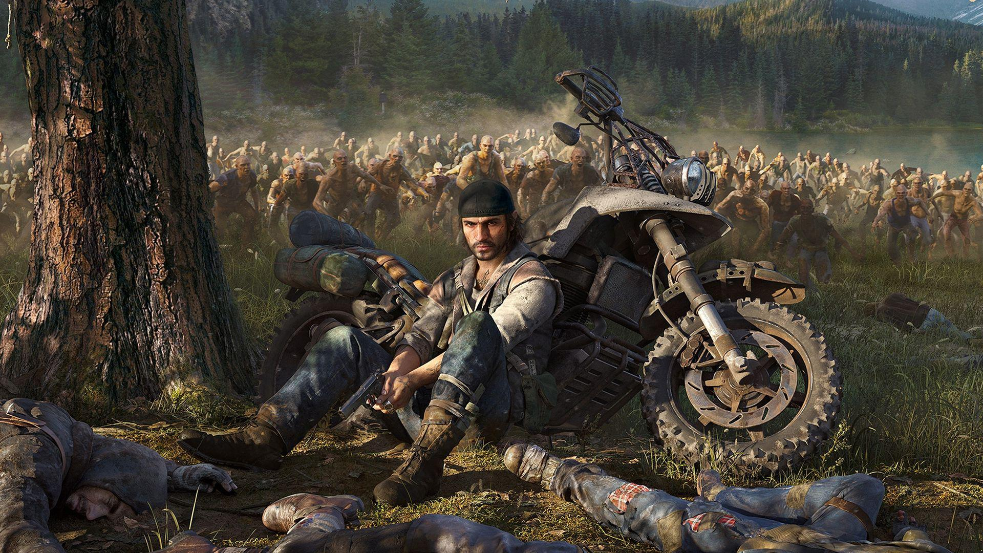 Days Gone Game Open World Action Game PS