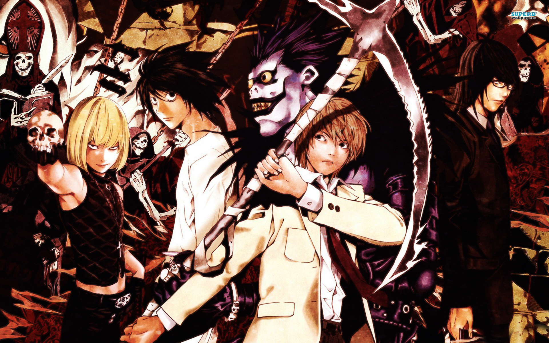 Death Note Anime Wallpapers (34 Wallpapers) - Adorable ...