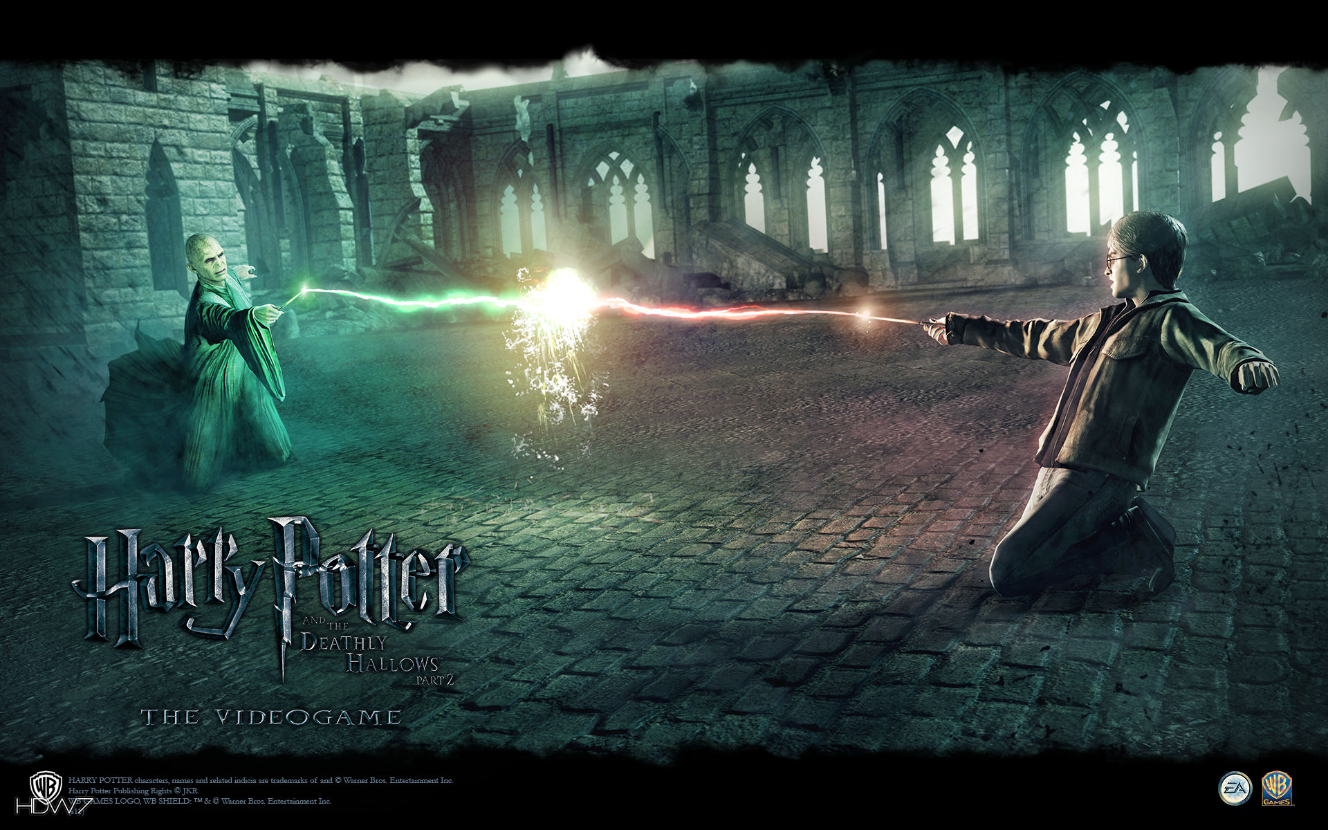 Harry Potter And The Deathly Hallows Wallpaper Widescreen 1920x1200