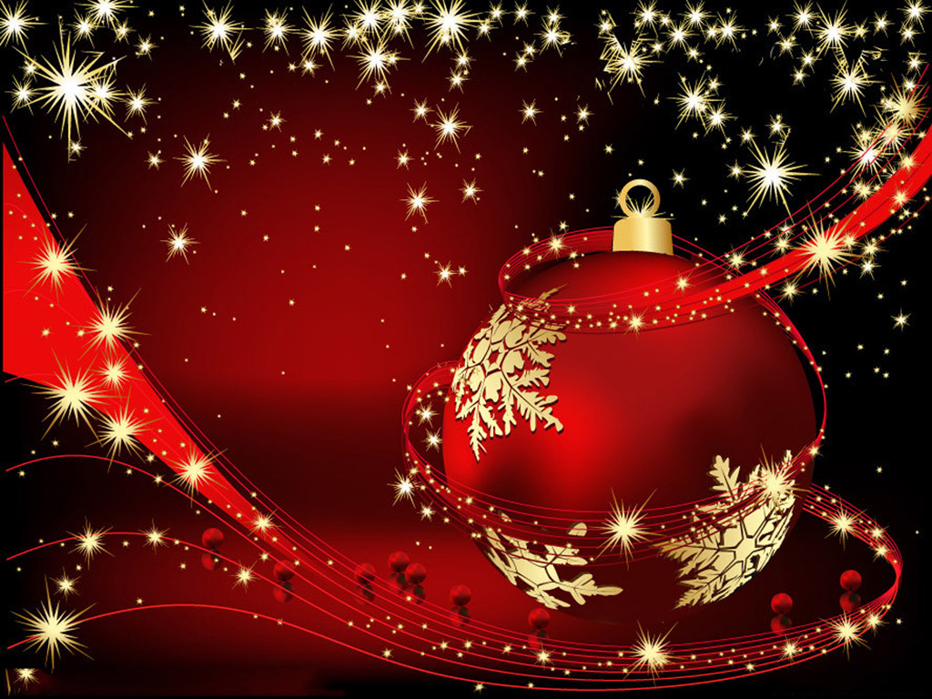 Winter Christmas Desktop Backgrounds Wallpaper 1024x768