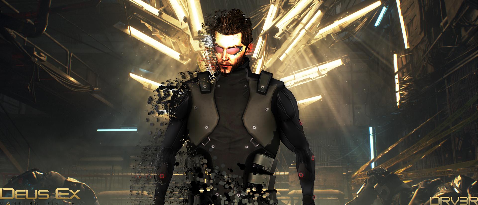 Deus Ex Mankind Divided P Hd Abstract Desktop Wallpaper Syanart