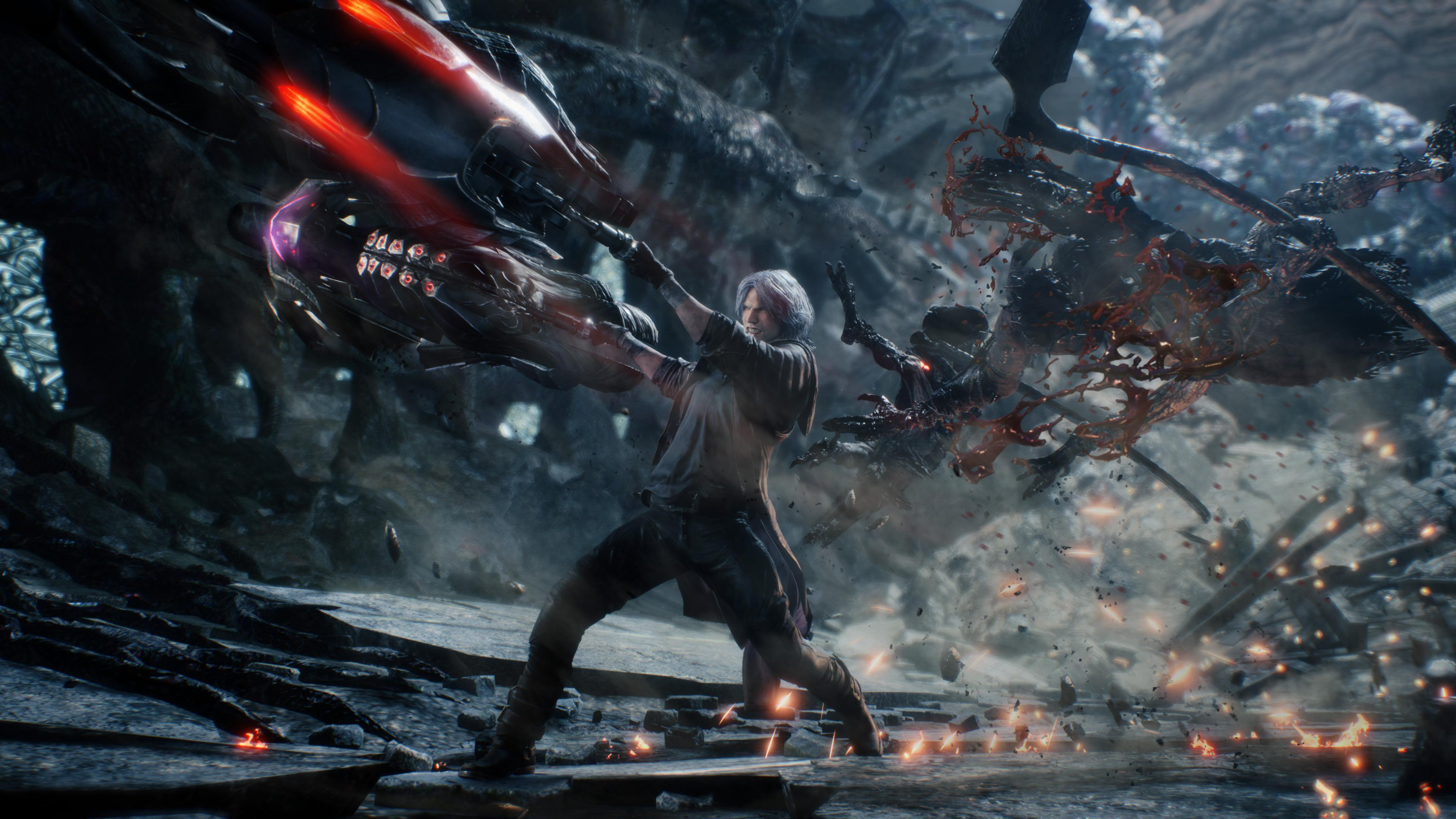 Nero Devil May Cry K Hd Games K Wallpapers Images
