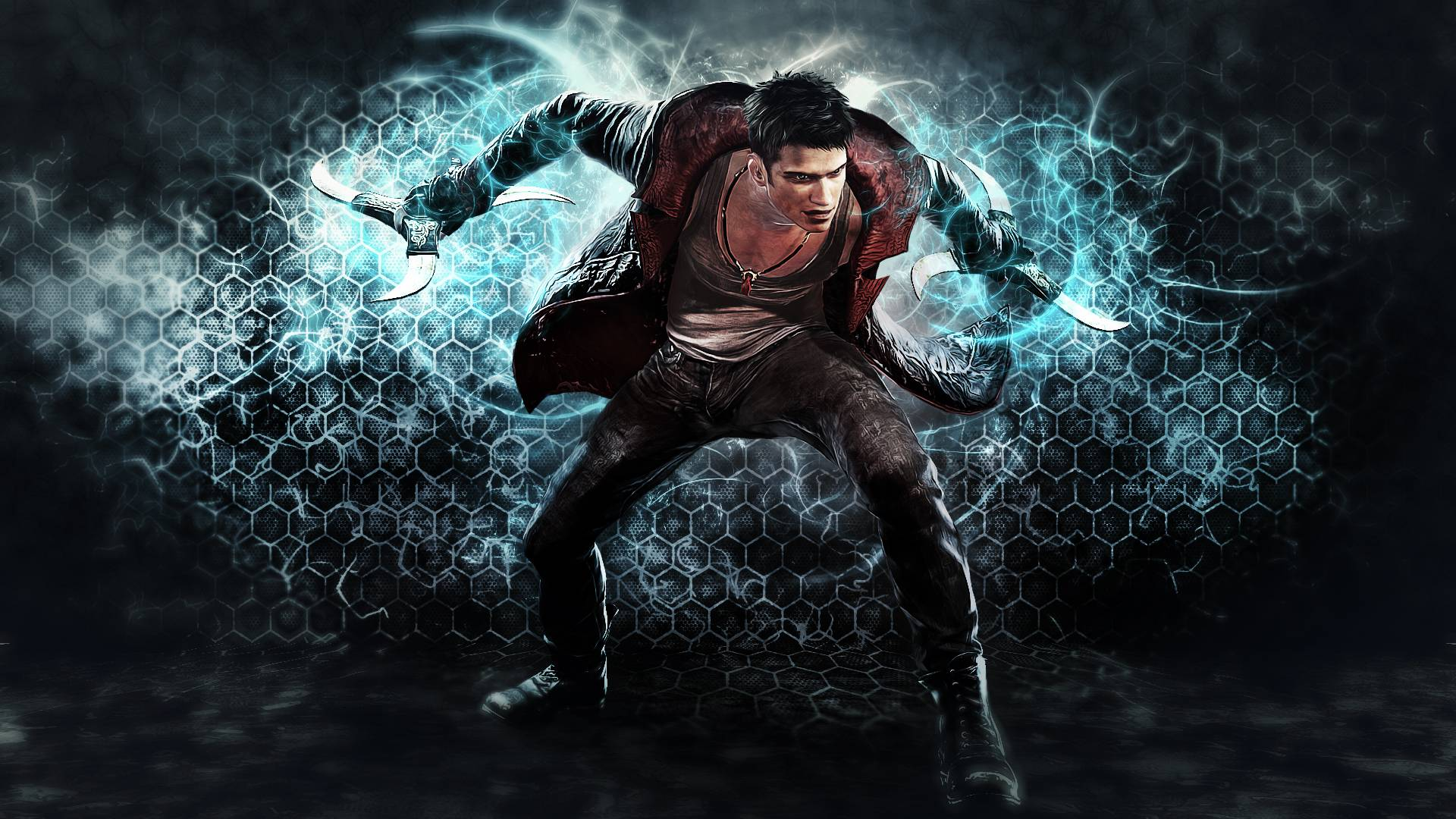 Devil May Cry Anime Wallpaper 1920x1080