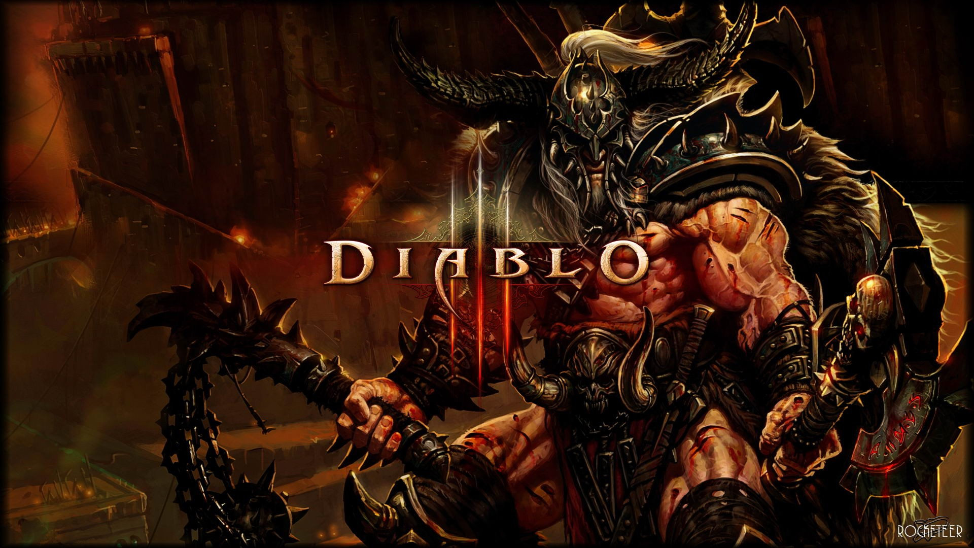 Diablo II HD Wallpapers  Backgrounds  Wallpaper  1920x1080
