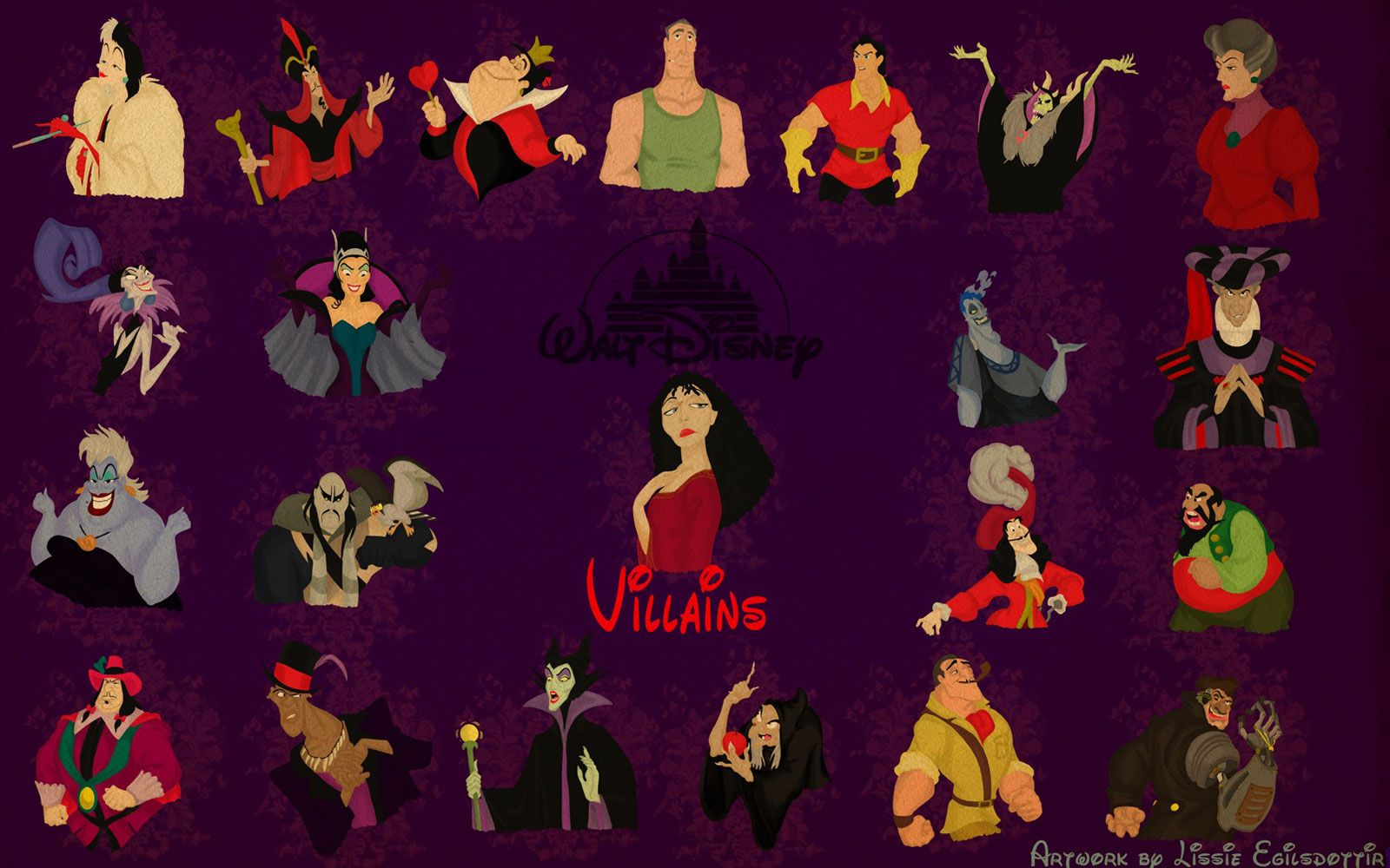 Disney Villain Wallpapers 007