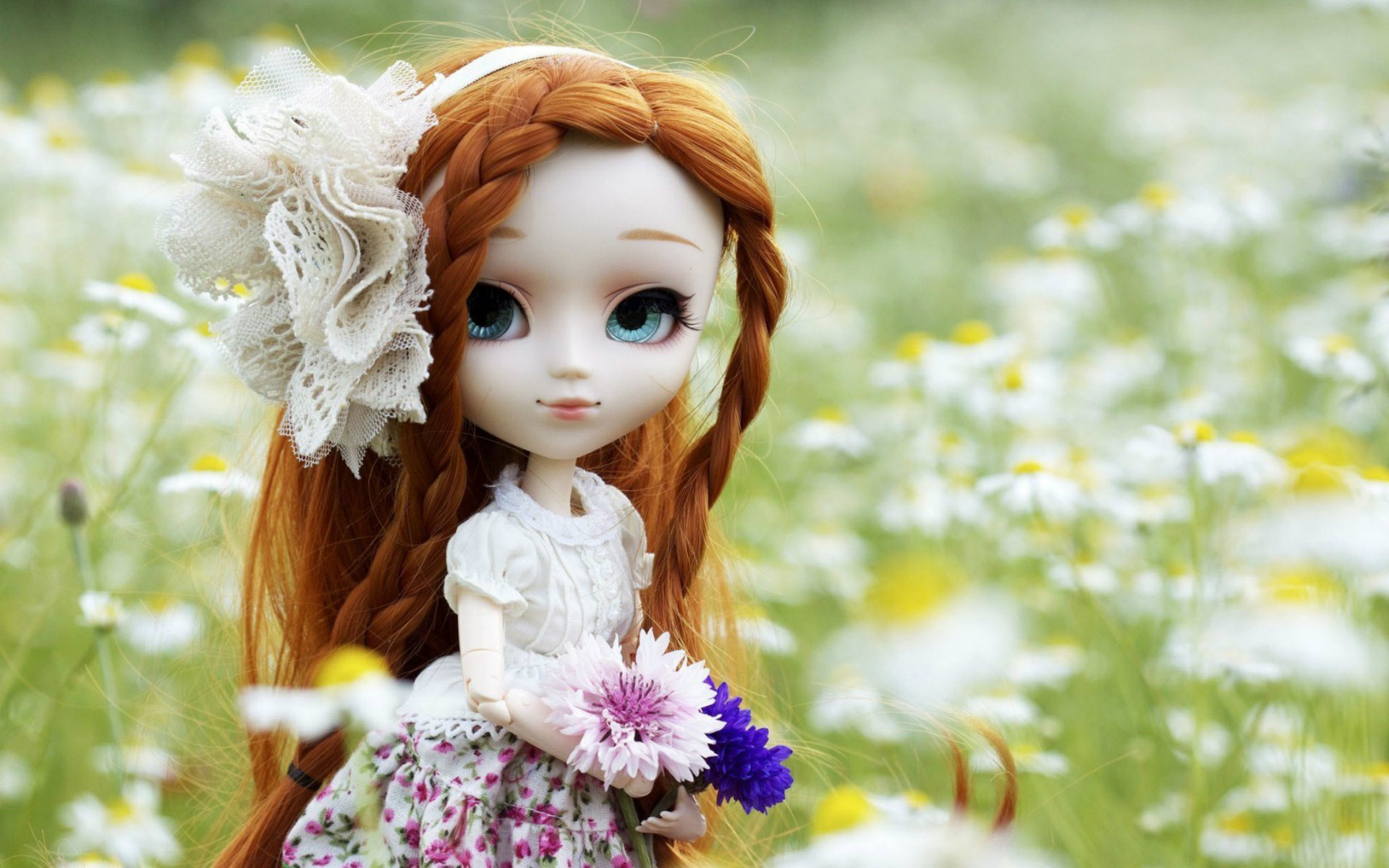 Cute Barbie Doll DP For Girls 1920x1200
