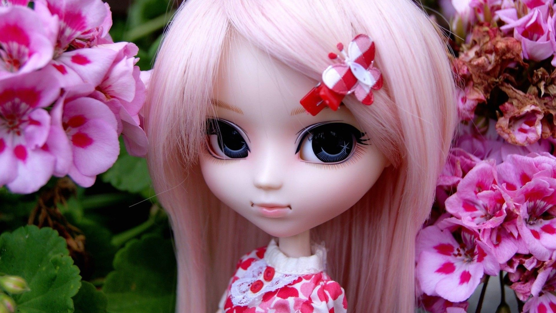 wallpapers of cute dolls free download