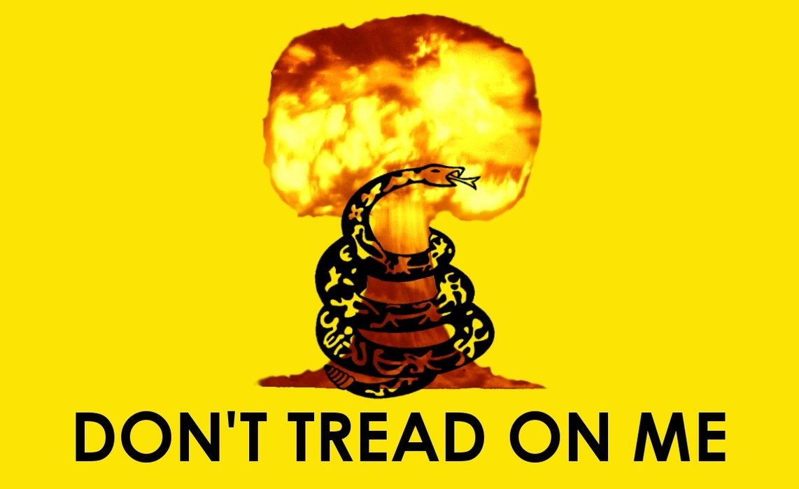 Grunge Dont Tread On Me The Gadsden Flag Is Wallpaper For Your