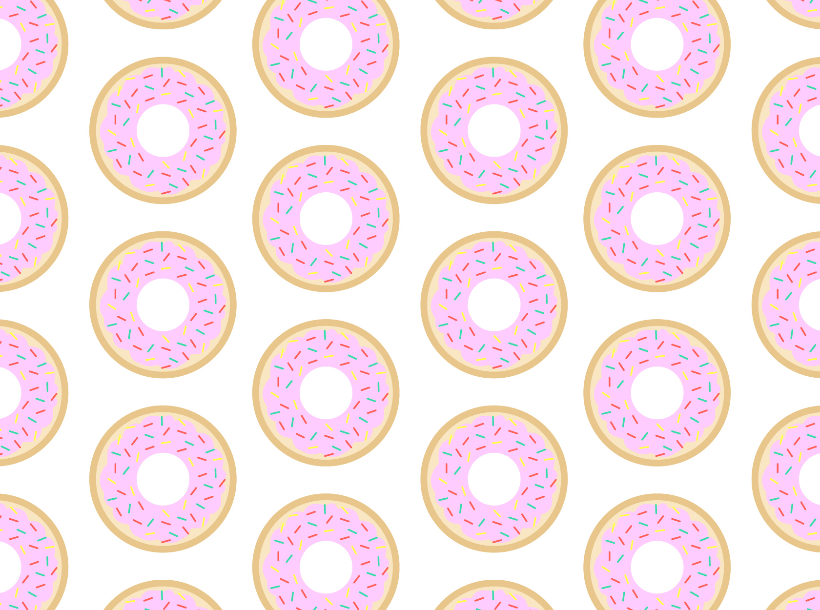 Donut wallpaper  Huge Collection of High Definition Pictures 1680x1250