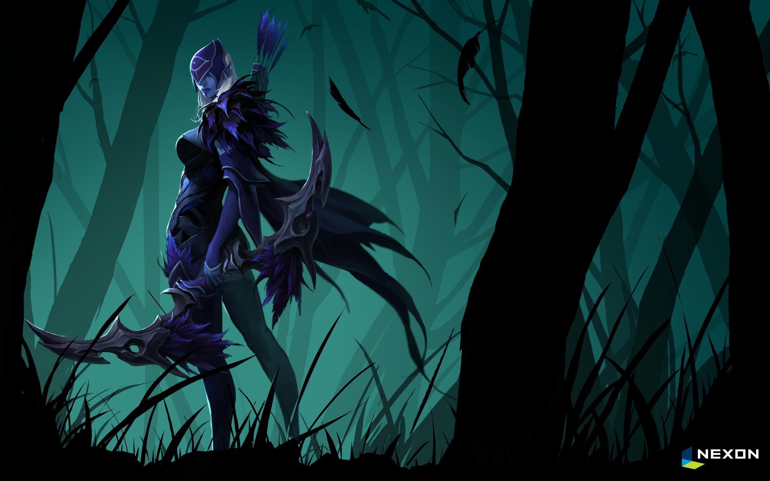 Drow Ranger Traxex Wallpapers Dota Wallpapers Desktop