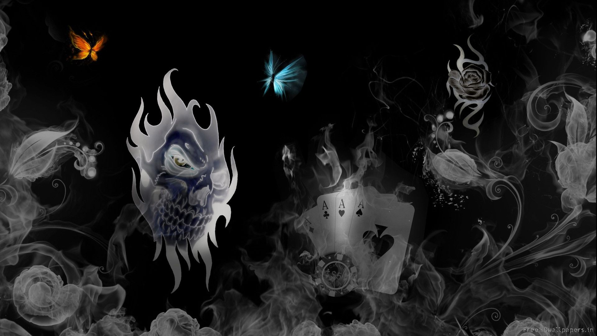 download skull wallpapers (50 wallpapers) – adorable wallpapers