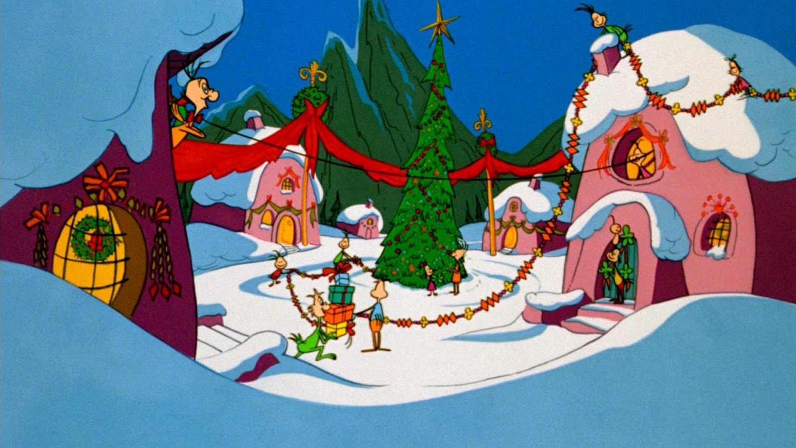 The Grinch Wallpapers Group 1600x900