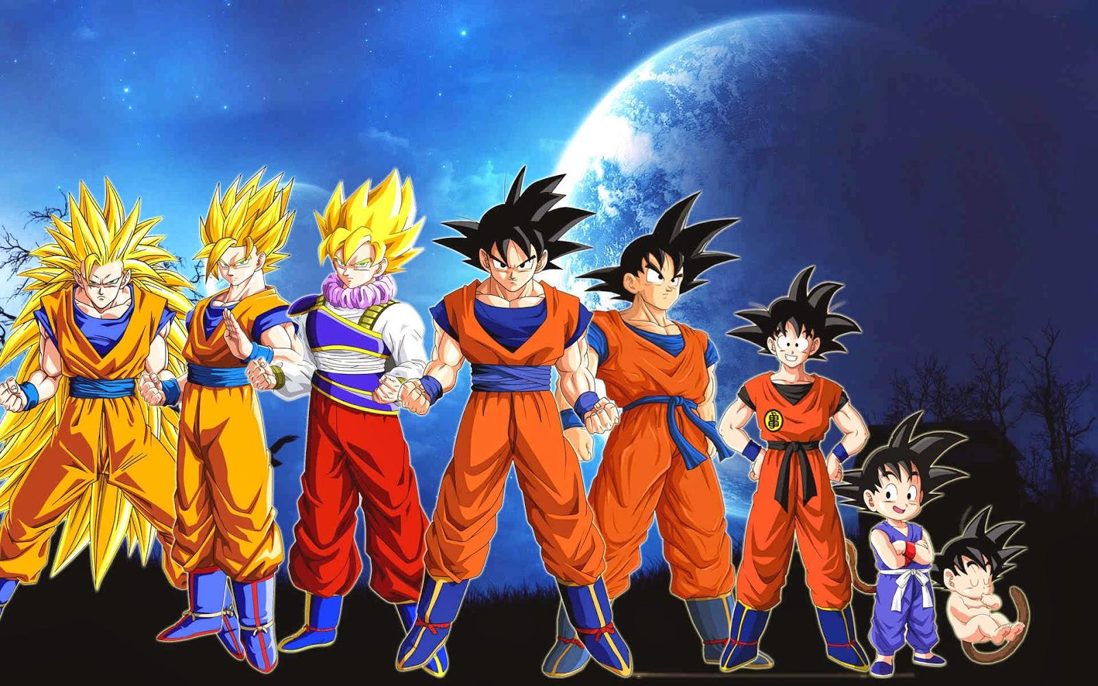 Dragon Ball Goku Wallpapers (46 Wallpapers) - Adorable Wallpapers