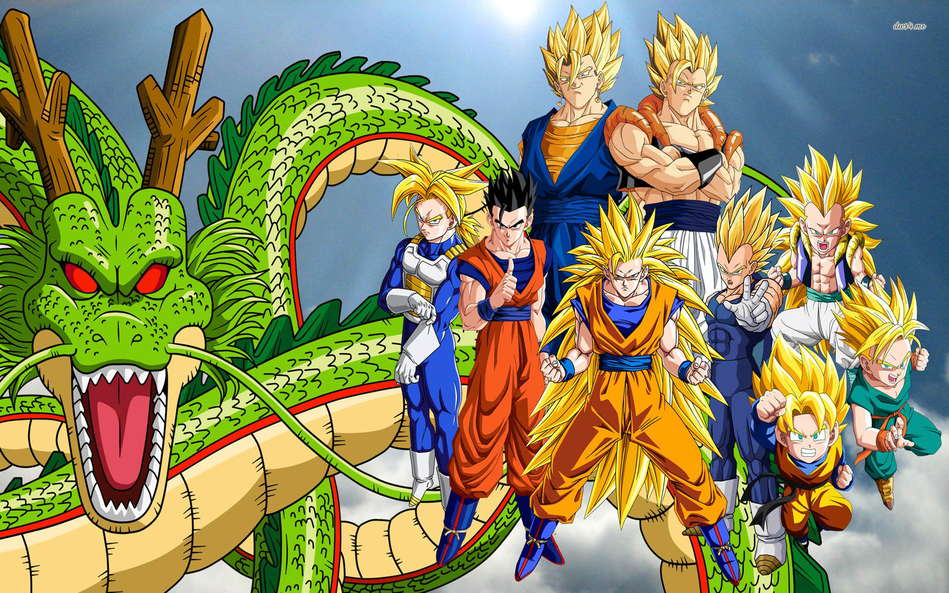 Dragon Ball Z HD Wallpapers and Backgrounds 1920x1200
