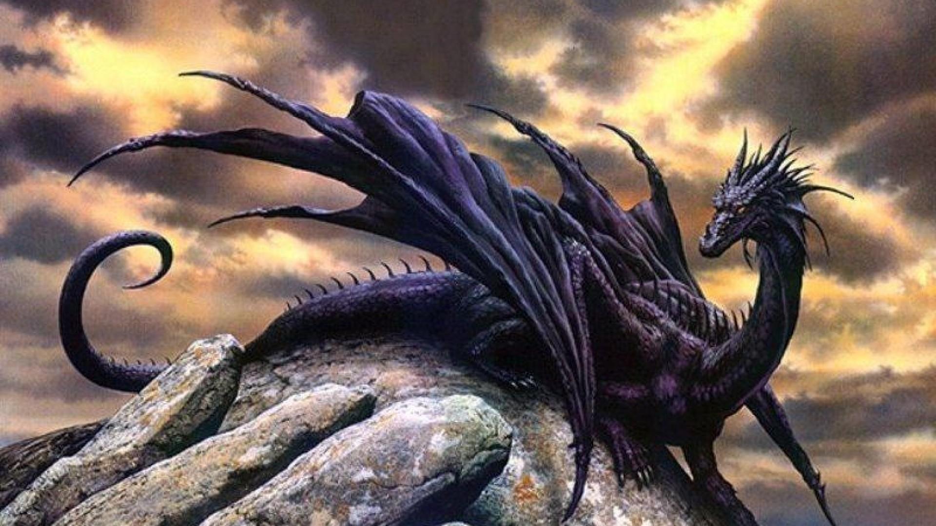 High Resolution Fantasy Black Dragon Wallpaper Hd Full Size 1920x1080