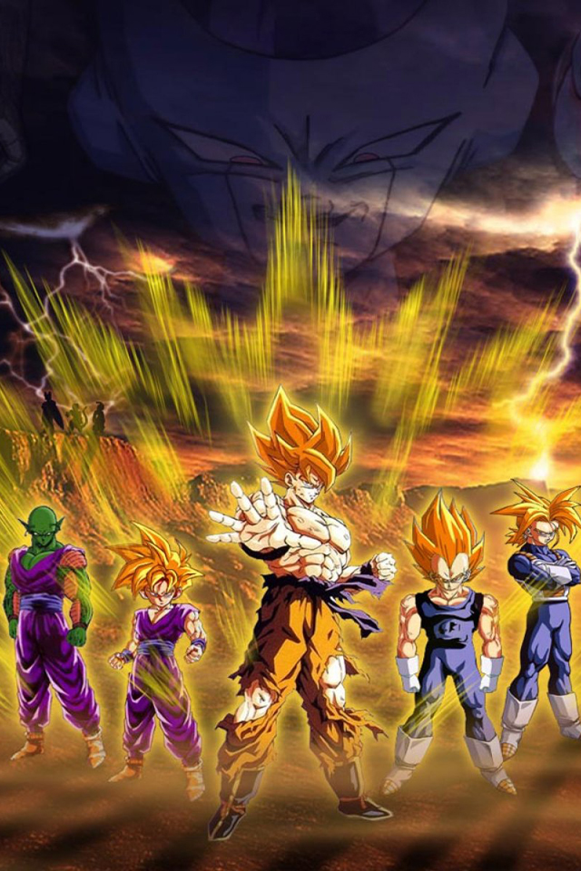 Dragon Ball Z Apple Iphone Wallpapers 640x960