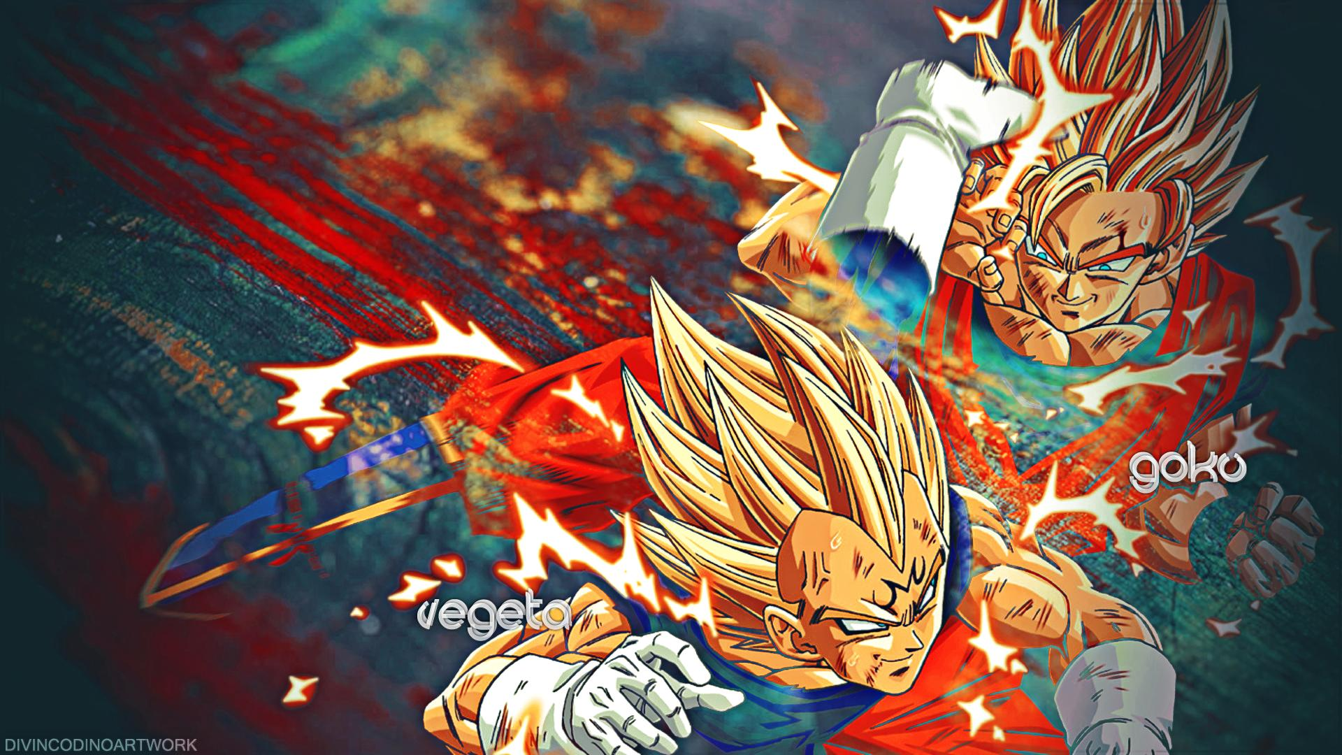dragonballz wallpapers  Vegeta VS Android   Dragon Ball Z HD Wallpapers  Backgrounds  Wallpaper  1920x1080