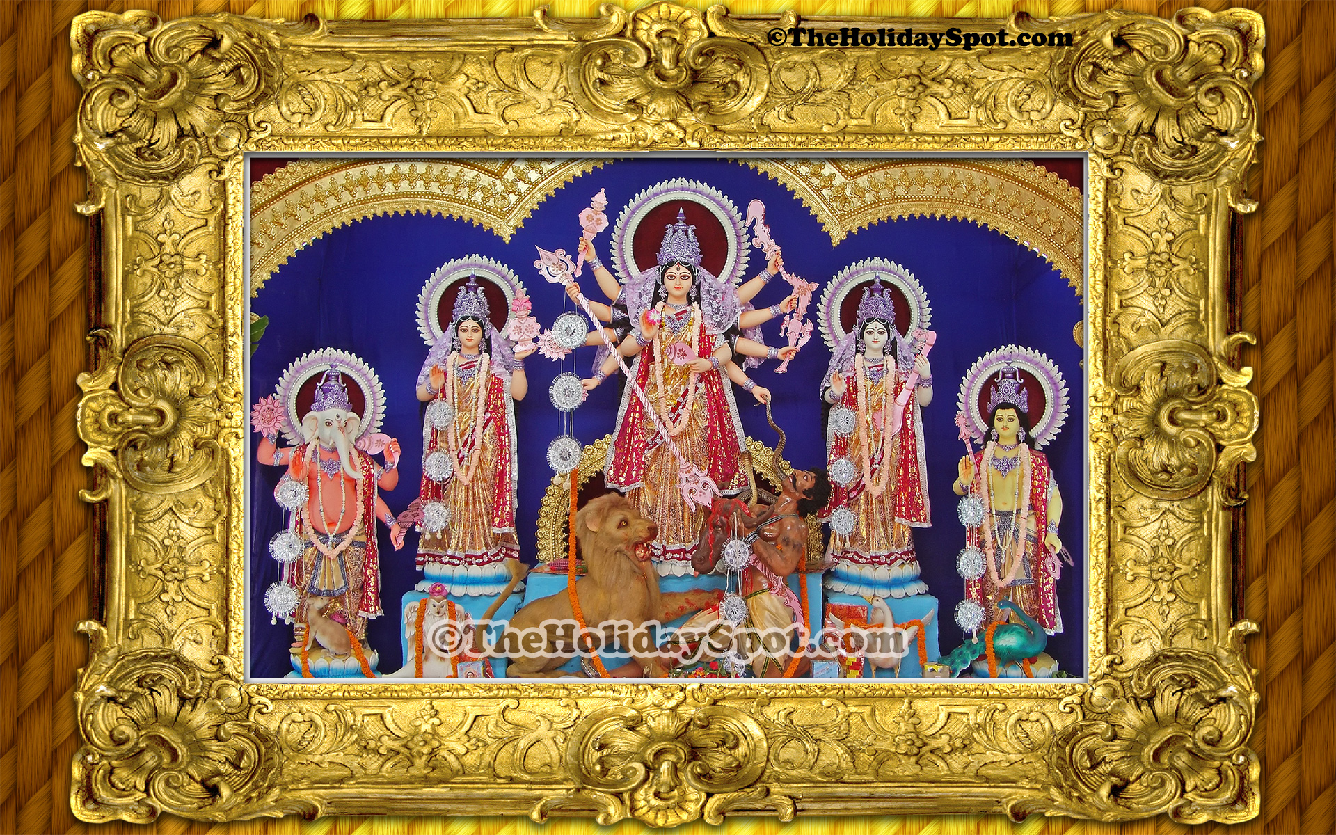 Maa Durga Puja Images HD D Animated Photos [Download For