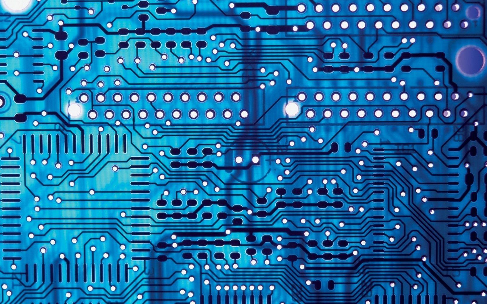 Electronic Circuit Wallpaper 1680x1050