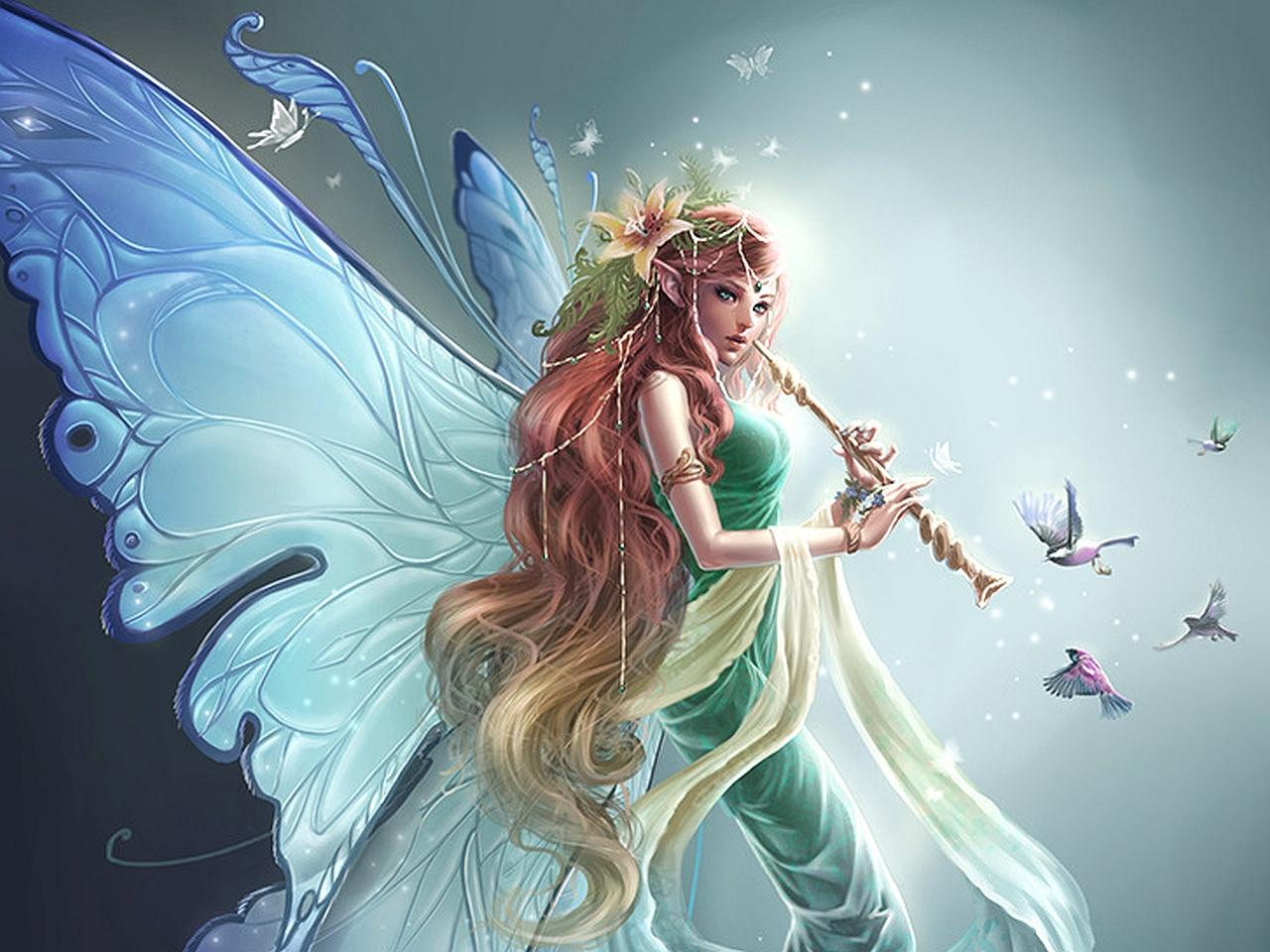 Gothic Fairy Desktop Wallpaper 1280x960