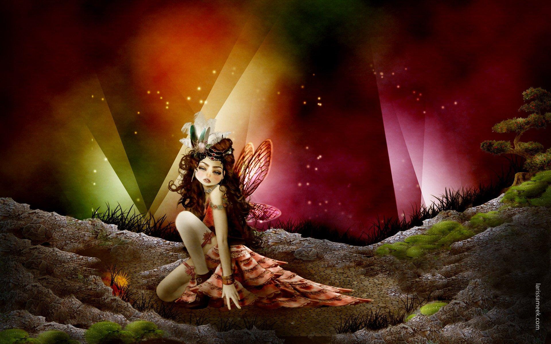 desktop wallpaper fairies - photo #37